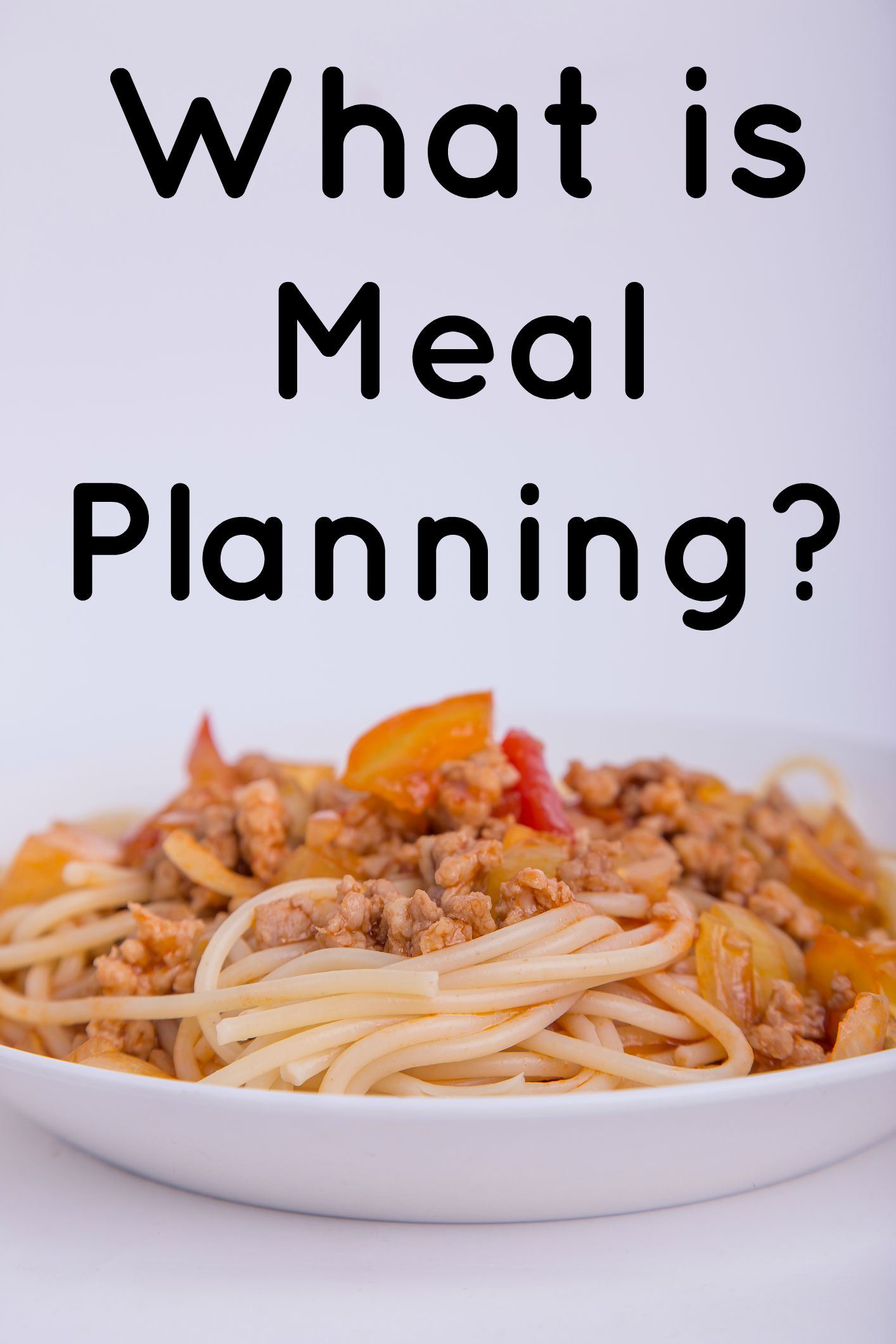 What is  Meal Planning