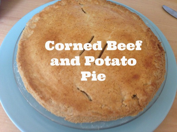 corned beef and potato pie