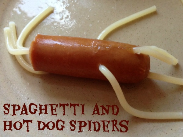 Spaghetti and Hot Dog Spiders