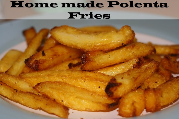 Homemade polenta fries