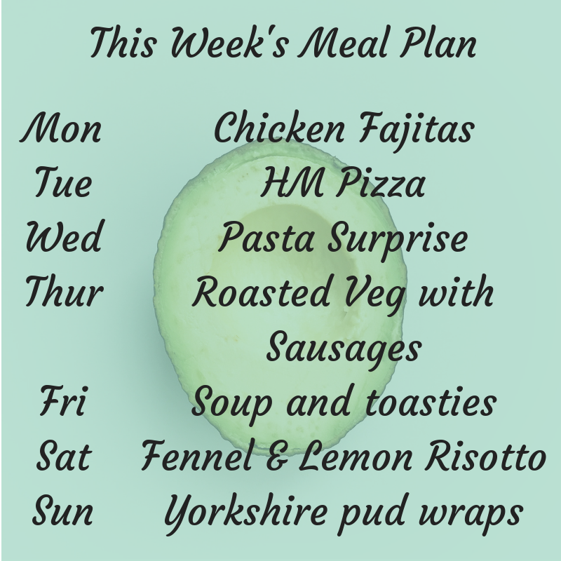 This week's family Meal Plan! #mealplan #mealplanning #mealprep #thrifty #frugalliving #frugal #family